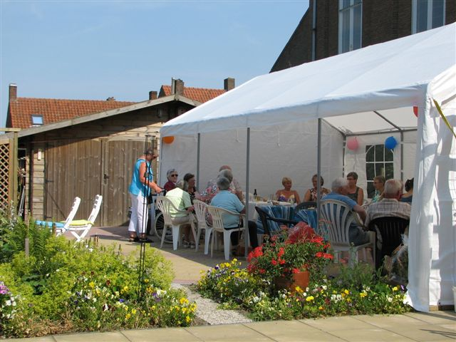 terras partytent